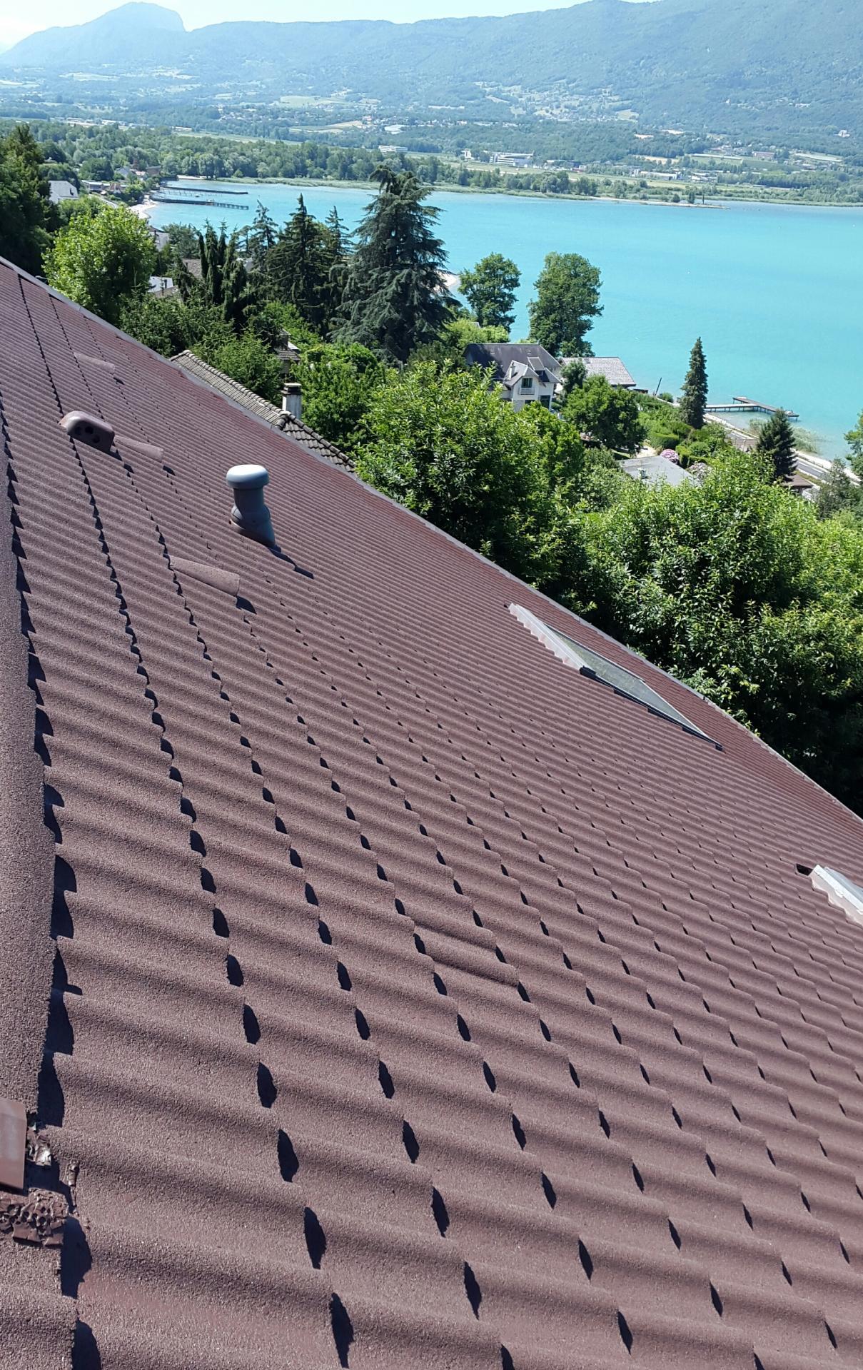 EH  toiture peinture rénovation de toiture Chambéry Aix-les-Bains