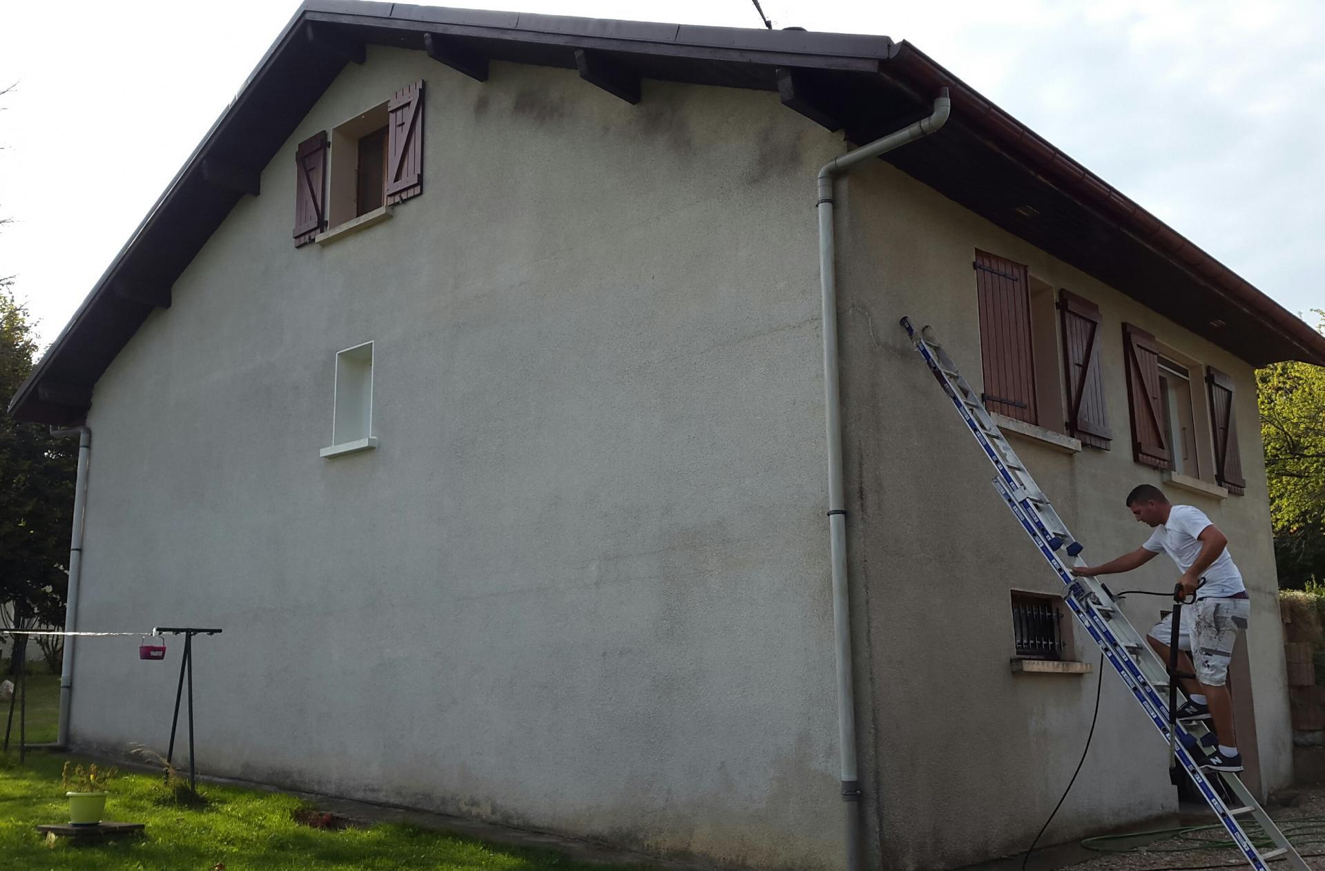 Rénovation façade Chambéry Aix-les-Bains EH toiture peinture
